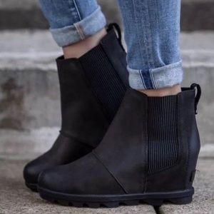 New Sorel Joan Of Arctic II Wedge Ankle Boots
